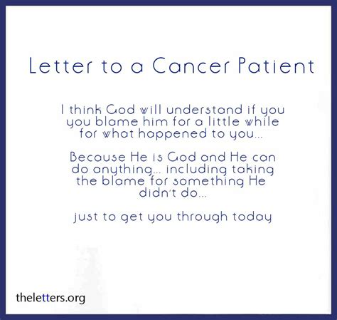 Cancer Patient Goodbye Letter surviving cancer quotes for him quotesgram