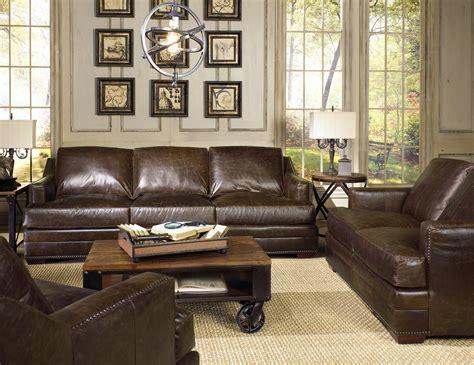 usa premium leather sofa track arm sofa w nailhead trim by usa premium leather