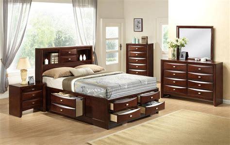 high class quality designer bedroom set  extra storage los angeles california gf linda