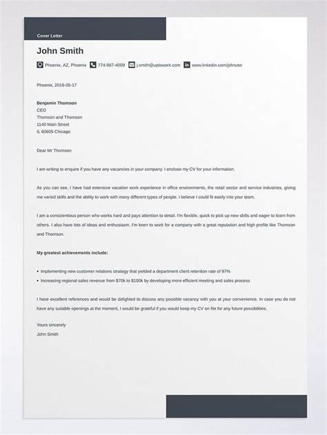 Uptowork Cover Letter Template Do I Need A Cover Letter Are Cover Letters Necessary In 2018 Tips
