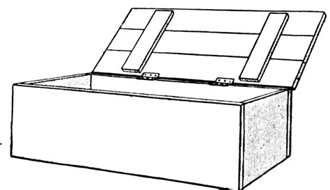 Box Outline Clip by Box Clipart Etc