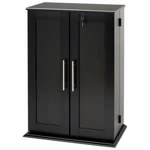 Storage Cabinet With Locking Doors Garrett Locking Media Storage Cabinet With Shaker Doors Dcg Stores