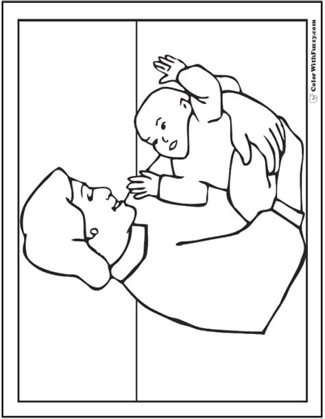 coloring pages mother and baby 45 mothers day coloring pages print and customize for mom