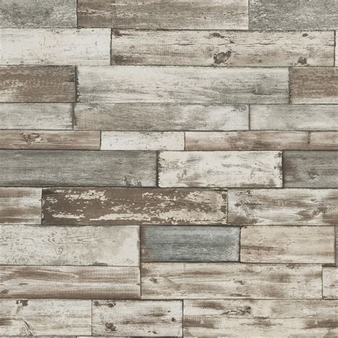 grey wallpaper panel erismann authentic wood panel wallpaper grey