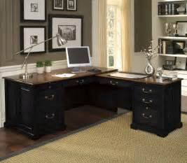 Desk Office Home Black L Shape Desk For Home Office