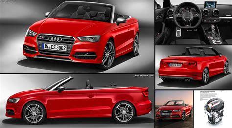 Audi S3 Cabrio Preis by Audi S3 Cabriolet 2015 Pictures Information Specs