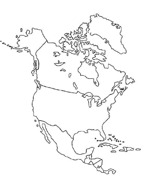 america map in color coloring map of america coloring free coloring pages