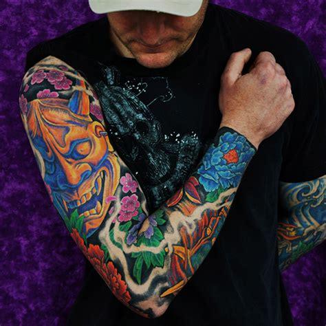 sleeve 01 dawei zhang tattoo artist dawei tattoo