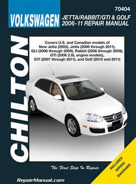car repair manual download 2010 volkswagen rabbit interior lighting chilton volkswagen golf gti gli jetta rabbit 2006 2011 repair manual
