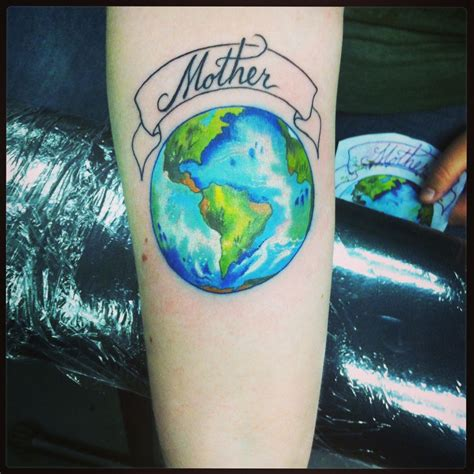 earth tattoo designs earth lol i like this tattoos earth