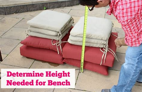 how high should a bench be build a big outdoor storage bench home repair tutor