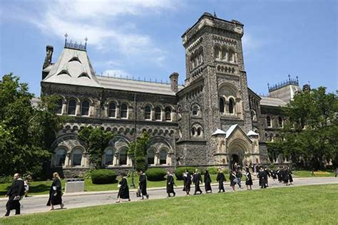 Canadian Universities In Toronto For Mba by Of Toronto Ranked In Canada 24th In The