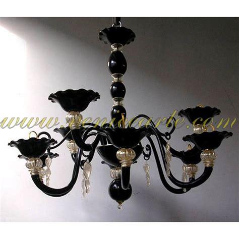 kronleuchter perlen murano kronleuchter schwarzen perlen serie
