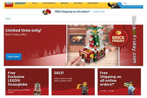 lego store black friday deals 2018