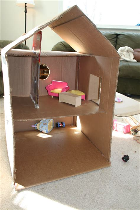 cardboard box house designs sweet daisy designs cardboard box dollhouse