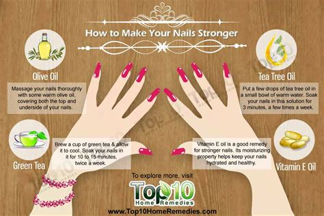 how to make nail how to make your nails stronger top 10 home remedies