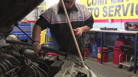fuel pump diagnosis ford taurus  youtube