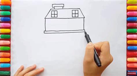 tutorial menggambar orang dengan mudah menggambar villa dengan mudah untuk anak sd sekolah dasar