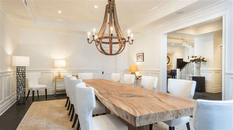 Wine Barrel Chandelier Lighting 25 Elegant Dining Room Designs By Top Interior Designers