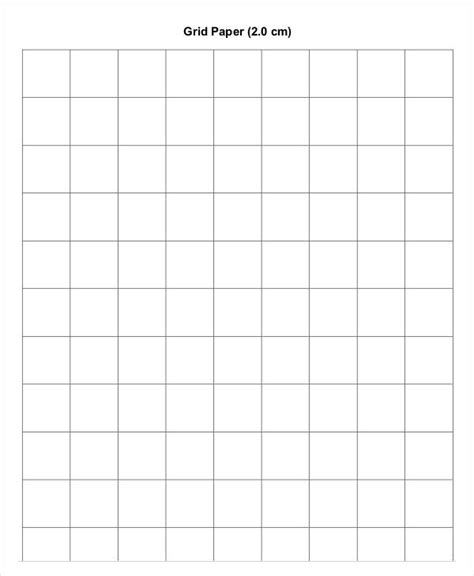 grid pattern template printable grid paper template 12 free pdf documents