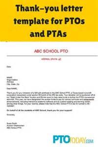 Thank You Letter To Parents From Pto Pto Today Principal And Box Tops On Pinterest