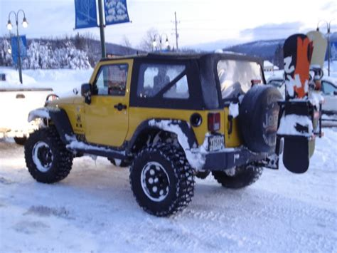 Ski Rack For Jeep Wrangler Hitch Mounted Ski Rack