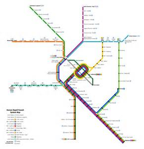 transit maps market projects construction