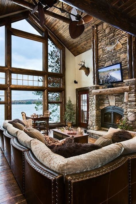Rustic Living Room Ls 25 Rustic Living Room Design Ideas For Your Home