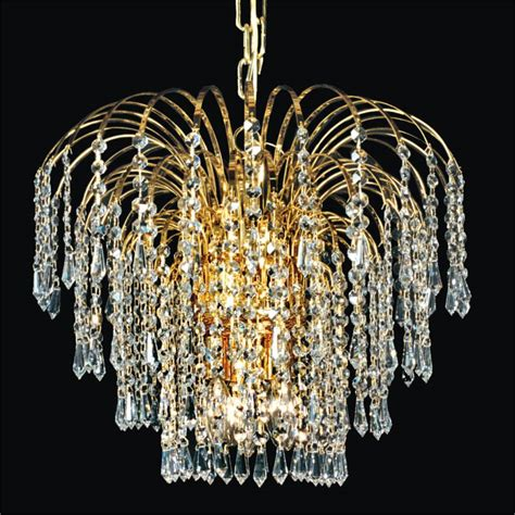 Waterfall Crystal Chandelier Cascade 532t Glow 174 Lighting Where Can I Buy A Chandelier