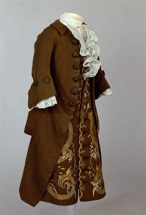 1700 clothing historical clothing 1700 s boy s coat