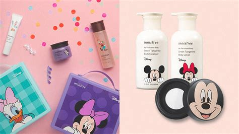 mickey mouse collection  innisfree  super cute