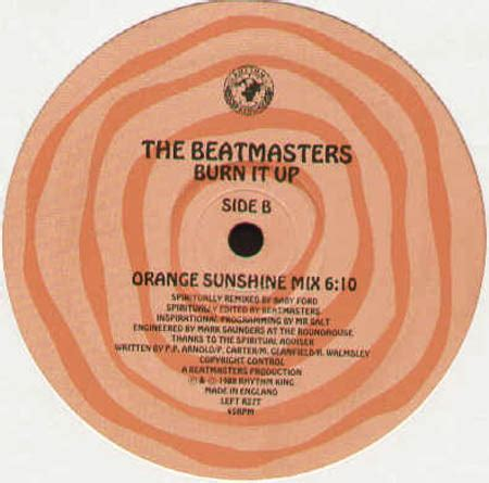 the beatmasters the beatmasters burn it up baby ford rmx rhythm king