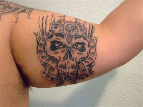 aztec tattoo shop aztec skull photo by zerostate57 photobucket