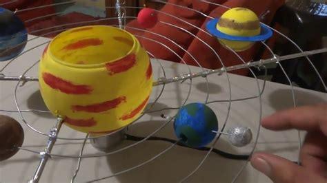 como ago una exppcicion del sisyema solar c 243 mo hacer una maqueta del sistema solar en 10 pasos youtube