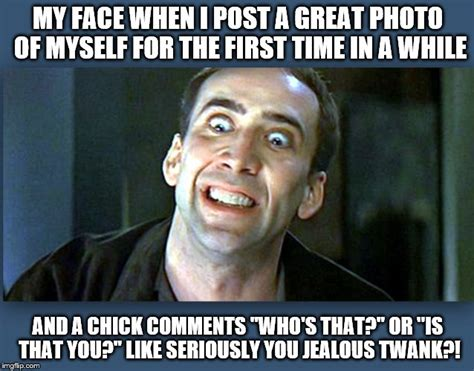 Nick Cage Meme - pin nicolas cage meme my face when on pinterest