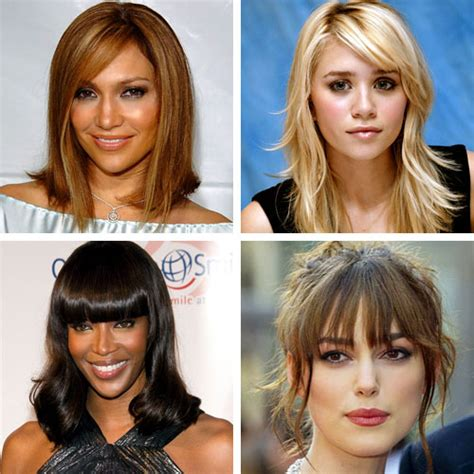 bang types with pictures bangs fashioninmywords