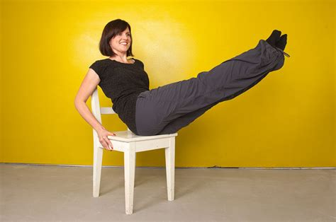 pilates chair abdominal exercises pilates abs workout with a chair part two beautylish