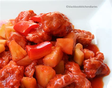 Sweat And sweet and sour chicken