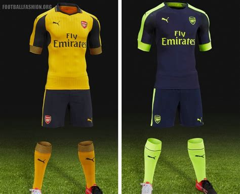 Special Produk Jersey Arsenal 3rd New 2017 2018 Grade Ori arsenal unveil 2016 17 away and third kits during usa tour football fashion org