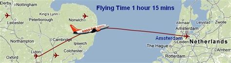 map uk to amsterdam cheap flights from luton to amsterdam