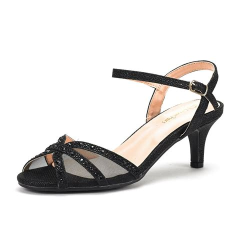s wedding dress rhinestones open toe classic low heel sandals shoes ebay