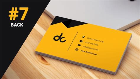 how to design id card in photoshop cs6 7 how to design business cards in photoshop cs6 3d flat