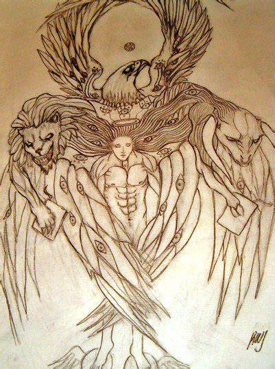 tetramorph by aqsaraneth on deviantart
