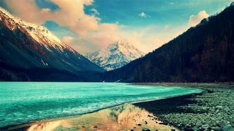 landscape wallpaper for macbook pro nature mountain forest landscape fog lake ultrahd 4k