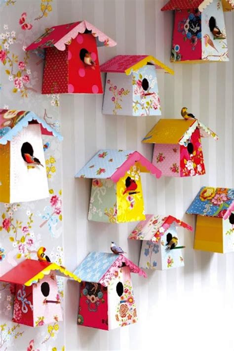 diy decorations with construction paper diy paper birdhouses with templates diy paper birdhouse and construction paper