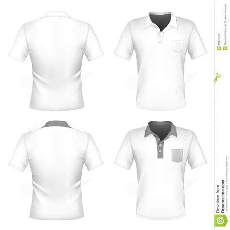 Kaos Less Work More Soccer s polo shirt design template with pocket stock vector