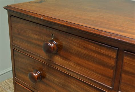 Country Chest Of Drawers by Country Georgian Mahogany Antique Chest Of Drawers Antiques World