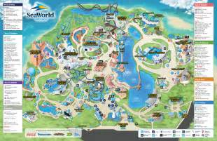 printable a3 size map of seaworld required orlando