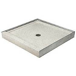 precast shower pan terrazzo ware shower base square marble chips 19ru53 sbs
