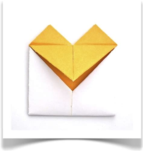 Origami Letter Folds - forty weeks crafts diy hearts letter folding